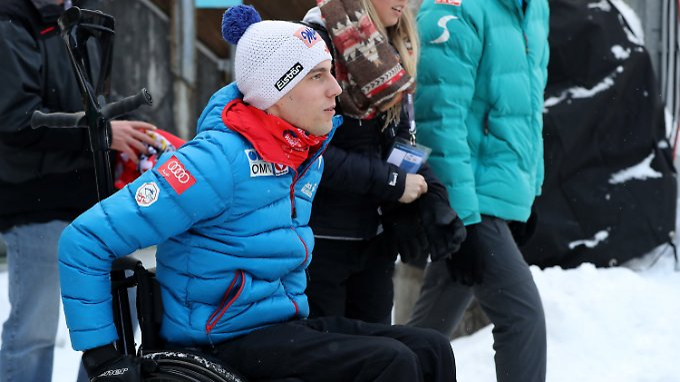 Sein Leben bestreitet Lukas Müller jetzt im Rollstuhl.