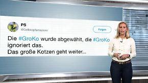 n-tv Netzreporterin: #GroKo kann Webgemeinde nicht begeistern