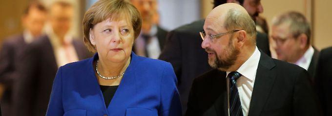SPD in der GroKo-Falle: Jetzt hängt alles an Schulz