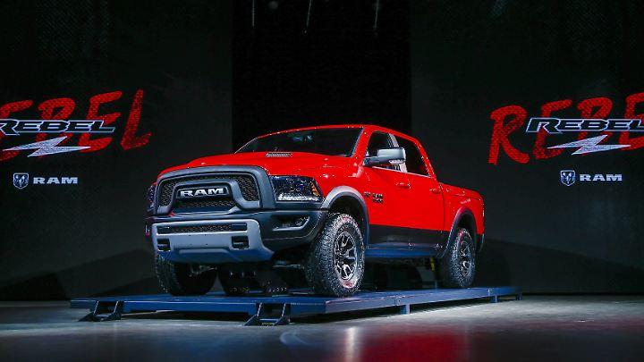 Das Pick-up-Modell Ram rollt 2020 in Michigan vom Band.