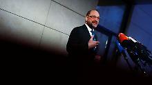 Verhandlungen um neue GroKo: Schulz schließt Posten nicht mehr aus