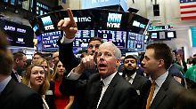 Neue Rekorde in New York: Wall-Street geht euphorisch ins Wochenende
