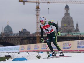 Sandra Ringwald konnte in Dresden nicht vorne angreifen.