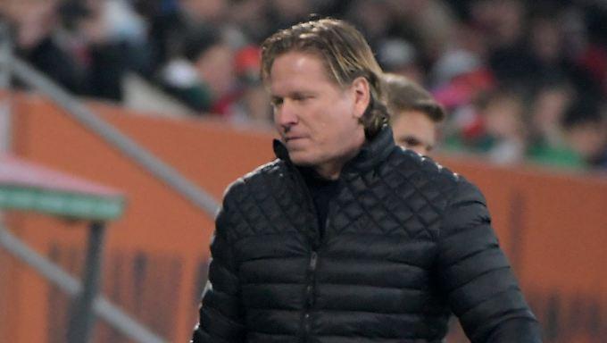 Zum Abwenden: Die Leistung des Hamburger SV frustriert Coach Markus Gisdol.