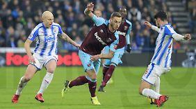 Hat maßgeblichen Anteil an Huddersfields bitterer Heimpleite: Ex-Bremer Marco Arnautovic.