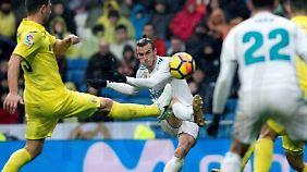 Haltungsnoten bringen keine Punkte: Gareth Bale gerät mit Real Madrid ins Grübeln.