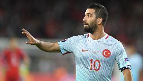 Arda Turan spielte bisher 98 mal für die türkische Nationalmannschaft.