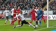 Eintracht Frankfurt - SC Freiburg 1:1 (1:0)