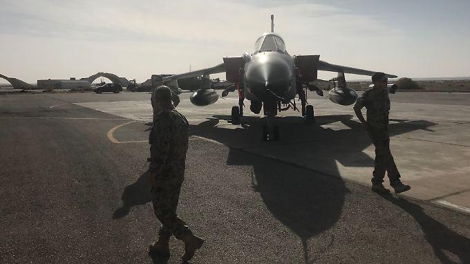 Luftwaffenstützpunkt Al-Asrak: Freiwillig ist die Truppe nicht hier.