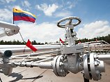 Blick auf das Ölfeld in Morichal im Orinoco-Gürtel in Venezuel