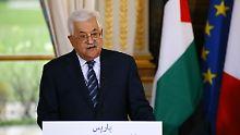 """Ewige Hauptstadt Jerusalem"": Abbas: Friedensverträge mit Israel sind ""tot"""