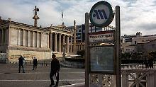 Vor Abstimmung im Parlament: Generalstreik lähmt Griechenland