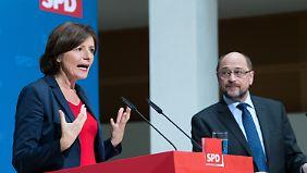 Malu Dreyer bevorzugt die Tolerierung einer unionsgeführten Bundesregierung.