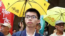 """Kopf der """"Regenschirm-Proteste"""": Hongkonger Aktivist muss erneut in Haft"""