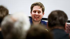 Trommeln gegen die GroKo: Juso-Chef Kühnert wird Schulz gefährlich