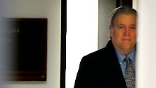 Offenes Gespräch mit Mueller: Bannon kooperiert mit Russland-Ermittlern
