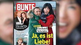 Der Altkanzler und die Liebe: Schröder zeigt sich mit seiner neuen Lebensgefährtin