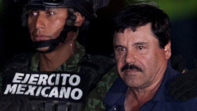 """Wenn """"El Chapo"""" im anstehenden Prozess auspackt, könnte er mexikanische Politiker und korrupte Polizisten belasten."""