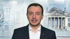 Paul Ziemiak ist Chef der Jungen Union und sitzt in dieser Legislaturperiode erstmals im Bundestag.