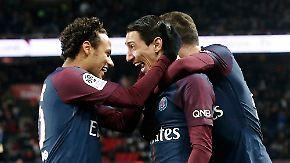 Acht-Tore-Zauberstunde im Prinzenpark: Vierfacher Neymar und PSG explodieren gegen Dijon