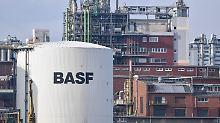 Kleiner Trump-Bonus: BASF legt deutlich zu