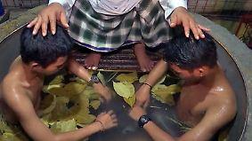 Heilen ohne Medikamente: Indonesische Islamschulen therapieren Drogenabhängige