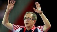 """""""Hat alle Grenzen überschritten"""": Kroatiens Handballtrainer sorgt für EM-Eklat"""