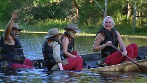 Erster Tag im Dschungelcamp: Einige Buschbewohner kämpfen schon mit der Anreise