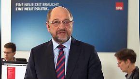 In der GroKo für ein starkes Europa: Schulz geht auf die jüngeren Genossen zu