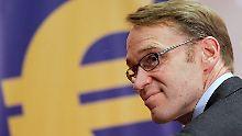 Bundesbank-Chef muss mit zwei leeren Chefsesseln klar kommen.