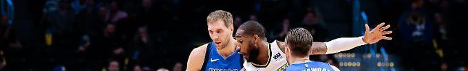 Der Sport-Tag: 10:38 Trotz Nowitzki-Show: Dallas Mavericks leiden in der NBA