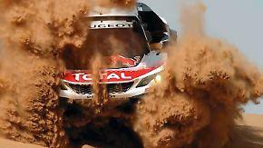 Härtester Wüstenmarathon der Welt: Carlos Sainz triumphiert bei der Rallye Dakar