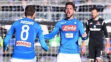 Der Sport-Tag: Serie A: SSC Neapel hält Konkurrenten auf Distanz