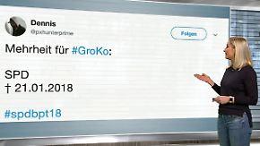 n-tv Netzreporter: Webgemeinde begräbt SPD nach #GroKo-Votum