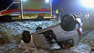Brocken dicht, Lawinen in Bayern: Schneemassen und Hochwasser schlagen erneut zu