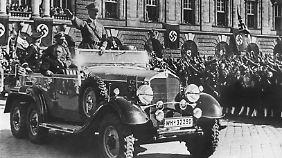 Der 770k war aber nicht das einzuge Repräsentationsfahrzeug in der dunklen Karriere von Hitler.