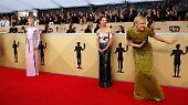Oscar-Probelauf bei SAG-Awards: Hollywood trägt wieder bunt