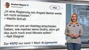 n-tv Netzreporter: Webgemeinde verhöhnt SPD nach #GroKo-Votum
