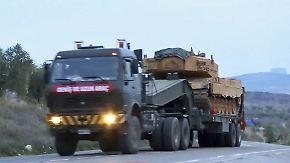 Bilder von Leopard 2 in Syrien: Türkei bringt deutsche Panzer gegen Kurden in Stellung