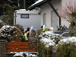 Familiendrama bei Nürnberg: Sohn soll Leichen eingemauert haben