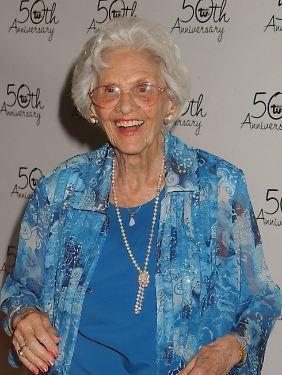 Connie Sawyer war die älteste aktive Schauspielerin in Hollywood.