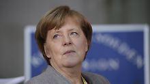 Europa-Tag in Davos: Merkel legt gegen Trump vor