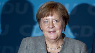 Stirnrunzeln in Davos: Merkel und Trump stoßen bei Weltwirtschaftsforum auf Skepsis