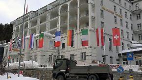Streitthema in Davos: Die Globalisierung teilt das Weltwirtschaftsforum