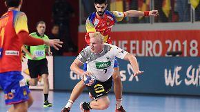 Einbruch in der zweiten Halbzeit: Spanien zerschmettert EM-Traum der deutschen Handballer