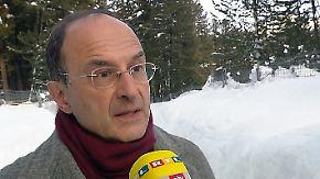 """Snower über Trump-Besuch in Davos: """"Er repräsentiert eine große politische Herausforderung"""""""