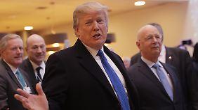 US-Präsident in Davos: Trump will das Wirtschaftsforum aufmischen