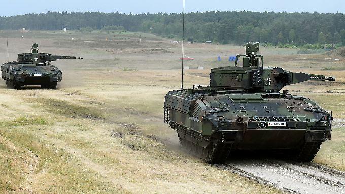 """Der neue """"Puma"""" der Bundeswehr ist offenbar nicht modern genug für einen tatsächlichen militärischen Einsatz."""