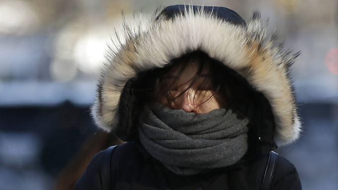 Gute Strategie: der Kälte möglichst wenig Angriffsfläche bieten.