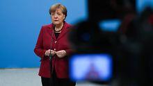 """Keine Zeit für """"Experimente"""": Merkel sieht keine Alternative zur GroKo"""